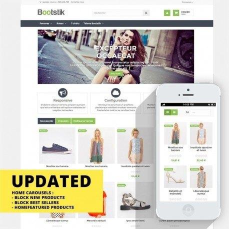 Bootstik - Thème responsive Prestashop