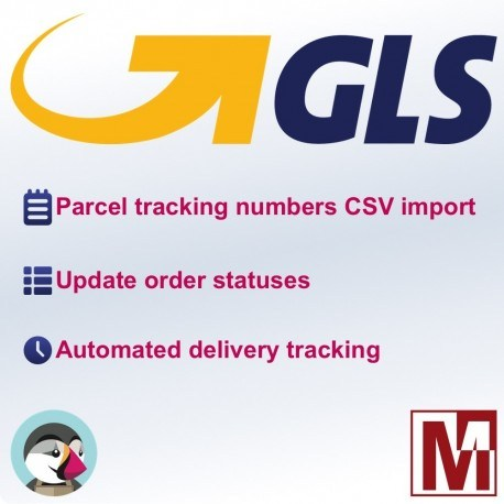 GLS tracking number and delivery for PrestaShop