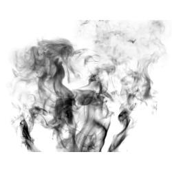 Défilement de fumée en fond de page