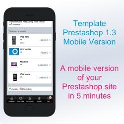 Prestashop Classic Mobile Template