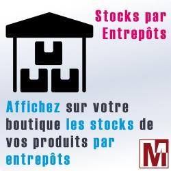 Afficher les stocks par entrepôt