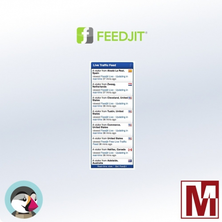 Free PrestaShop module FeedJit