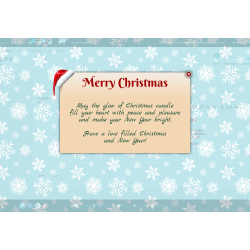 Christmas message Module
