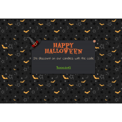 Halloween customize PrestaShop message