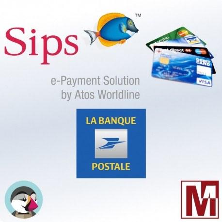 PrestaShop payment module for La Banque Postale (Scellius)