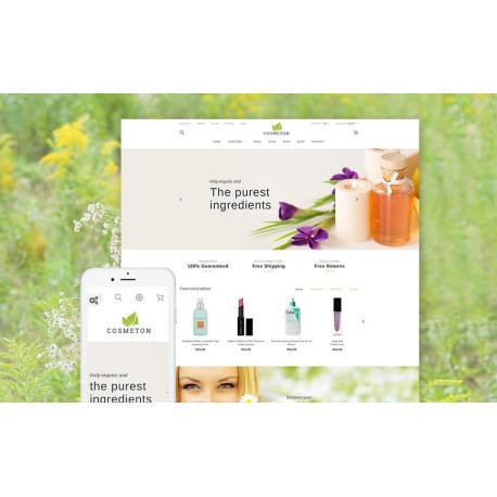 Cosmeton - thème PrestaShop responsive
