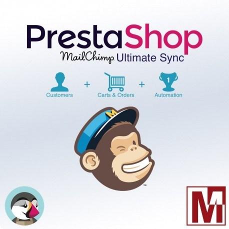 Ultimate PrestaShop with MailChimp synchronization