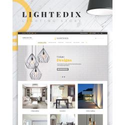 Thème PrestaShop adaptatif éclairage et électricité