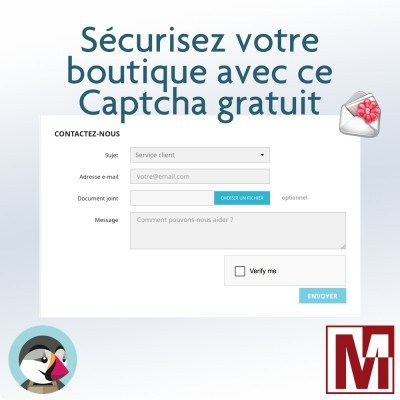 Modules gratuit PrestaShop contre les spams
