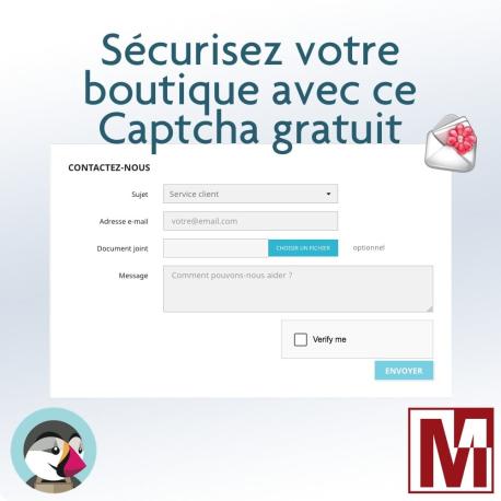 Modules gratuit PrestaShop contre les spams