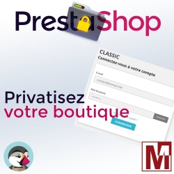 Privatiser sa boutique PrestaShop