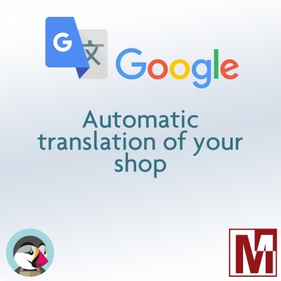 Free module : Automatically translate your PrestaShop with Google