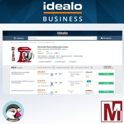 PrestaShop Price comparison IDEALO tracking pixel