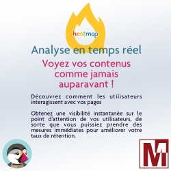 Module PrestaShop heatmap - Analyse visuelle en temps réel