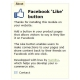 "Bouton Facebook ""J'aime"""